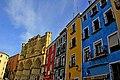 Catedral de Cuenca y los colores de la Plaza Mayor - panoramio.jpg