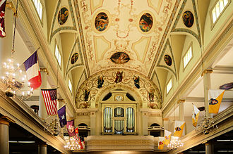 St. Louis Cathedral (New Orleans) - Organ