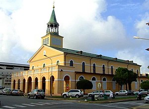Cayenne - Cayenne Cathedral is the seat of the Roman Catholic Diocese of Cayenne