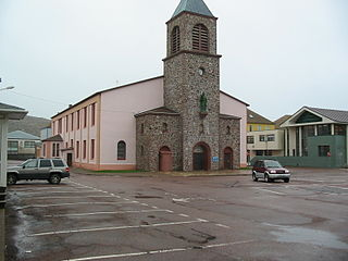 St. Pierre Cathedral, Saint-Pierre Church in Saint Pierre and Miquelon, France