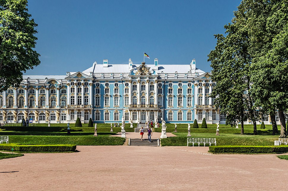 Catherine Palace in Tsarskoe Selo 02
