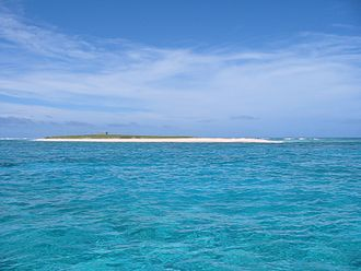 Cato Reef - Cato Island is one of the largest of the Coral Sea Islands