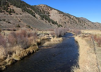 Cebolla Creek - The creek in Powderhorn, Colorado