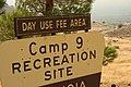 Cedar Fire - Camp 9 Recreation Site - Sign.jpg