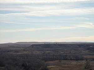 Trego County, Kansas - Image: Cedarbluffoverlook 2