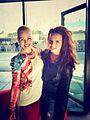 Celine Bernaerts met Xite collega Gwen van Poorten.jpg