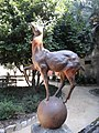 Cerf sculpté, Jardim das Camélias, Porto.jpg