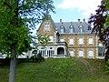 Château Grammont à Pont-de-Cheruy, vue de face depuis le parc.jpg