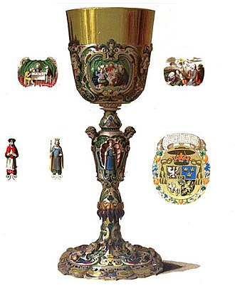 Karol Ferdynand Vasa - Image: Chalice of Charles Ferdinand Vasa