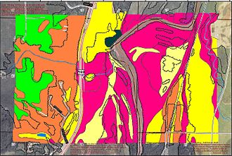 Nicollet County, Minnesota - Soils of Chamberlain Woods SNA area