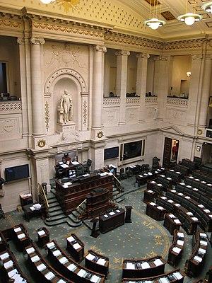 Chamber of Representatives (Belgium) - Image: Chambre Belgique interieur