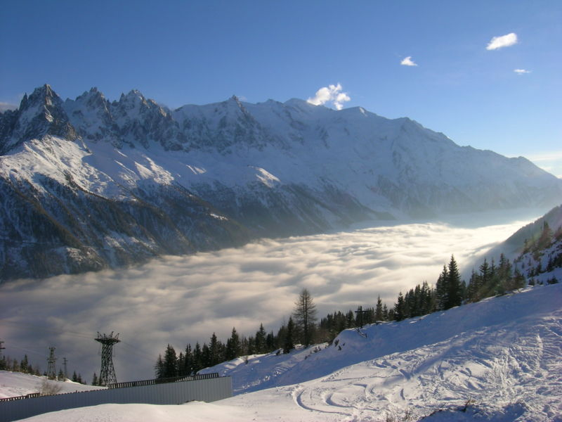 The Chamonix Valley