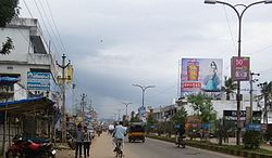 Main road in Parvathipuram