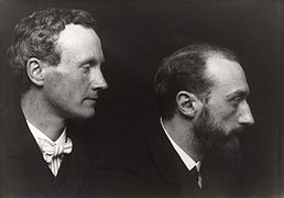 Charles Haslewood Shannon; Charles de Sousy Ricketts by George Charles Beresford