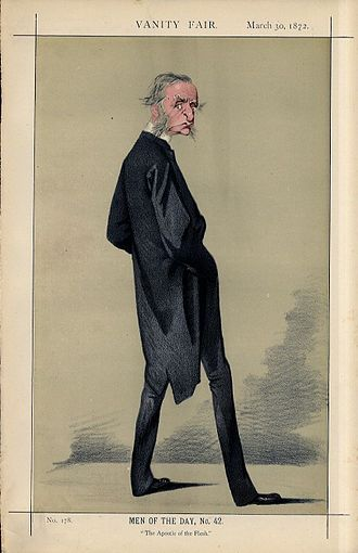 Charles Kingsley - Caricature by Adriano Cecioni published in ''Vanity Fair'' in 1872.