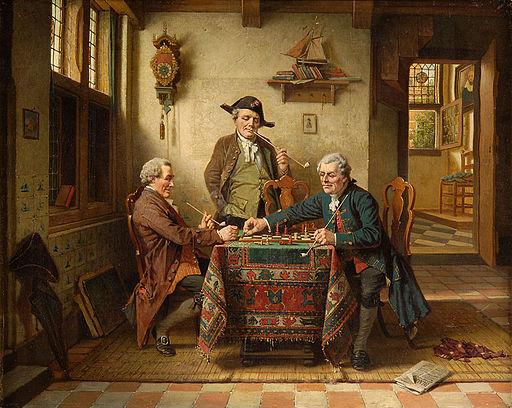 Charles Webb Schachpartie