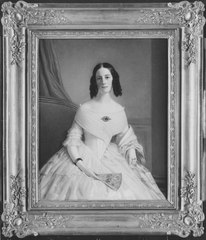 Charlotta Antoinetta von Düben, 1821 - 1881. Friherrinna