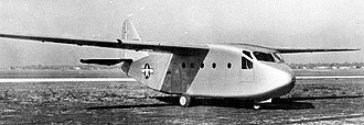 Chase YC-122 Avitruc - XCG-18A prototype