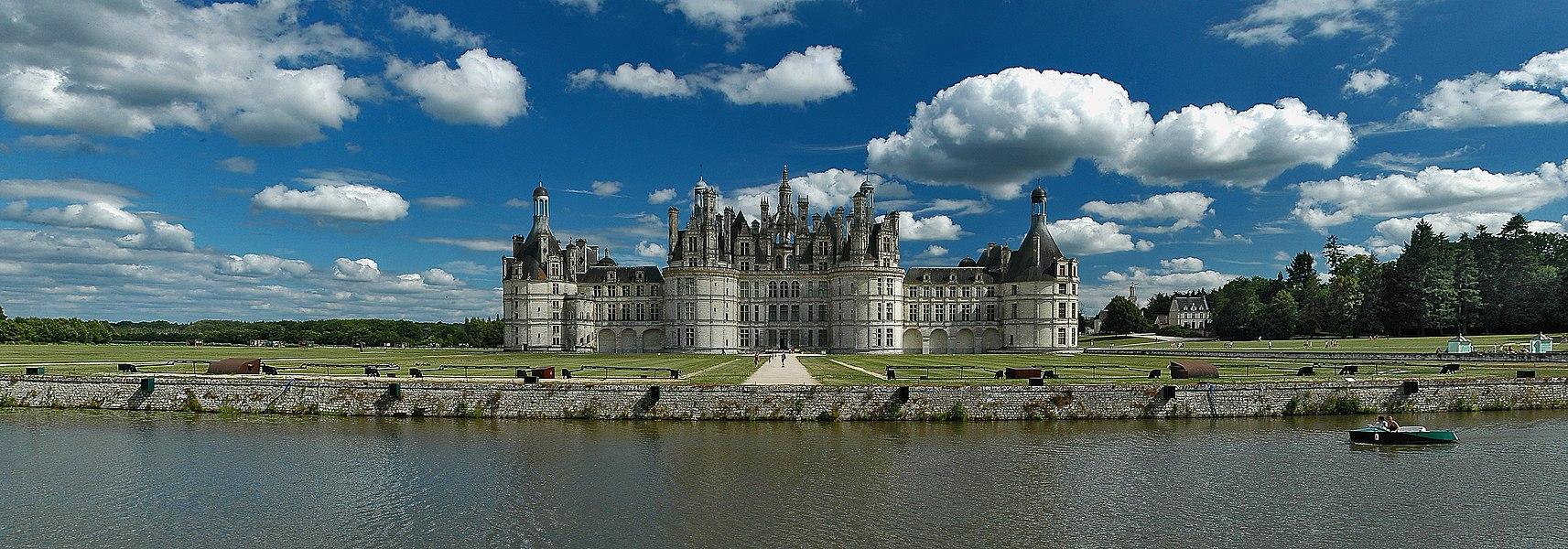 North façade of Château de Chambord
