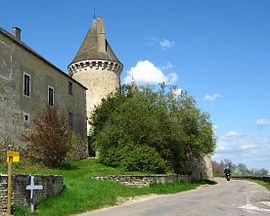 The chateau in Rully