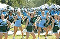Cheerleaders and Marching Band at Homecoming (2919831328).jpg