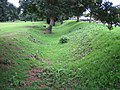 Chertsey, Abbeyfields Recreation Ground earthwork - geograph.org.uk - 546138.jpg