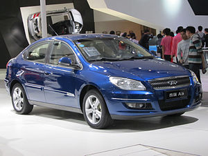 Chery A3 - Chery A3 4-door sedan