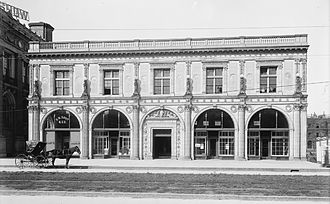 Chickering Hall, Boston (1901) - Chickering Hall, Huntington Ave., Boston, 1900s