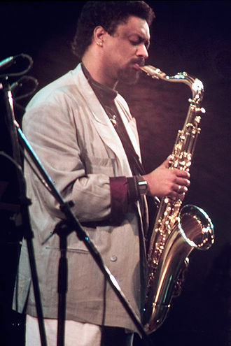 "1989 in jazz - Chico Freeman at a Concert at the North Sea Jazz Festival 1989 with ""The Leaders""."