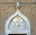 Chiesa di Sant'Andrea Apostolo ou della Zirada Venezia - porta gotica.jpg