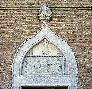 Sant'Andrea della Zirada - Image: Chiesa di Sant'Andrea Apostolo ou della Zirada Venezia porta gotica