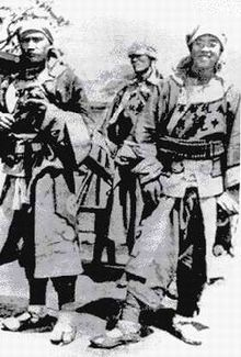 Chinese Muslim Kansu Braves 1900 Boxer Rebellion.jpg
