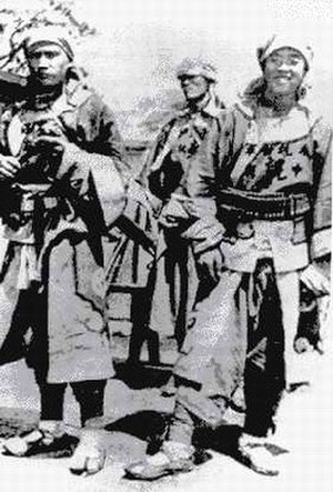 Kansu Braves - Three Muslim soldiers from the Gansu Army