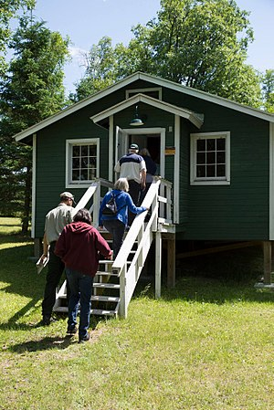 Rabideau CCC Camp - The National Forest offers guided and self-guided tours of the property