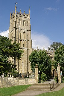 Chipping Campden town in Gloucestershire, England