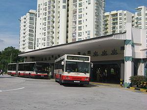 Choa Chu Kang - The town's
