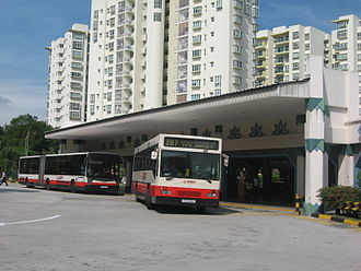 Choa Chu Kang - The old Choa Chu Kang Bus Interchange, which ceased operations in 2018.
