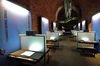 Fryderyk Chopin Museum - Image: Chopin Museum in Warsaw 05