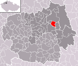 Location of Chotiněves