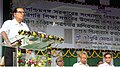 Chowdhury Mohan Jatua addressing at the foundation stone laying ceremony of Industrial Training Institute, at Mandirbazar, South 24 Parganas District, West Bengal on February 15, 2012.jpg
