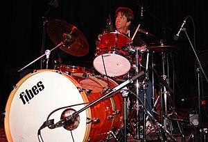 Chris Layton - Chris Layton performing on stage in 2005.