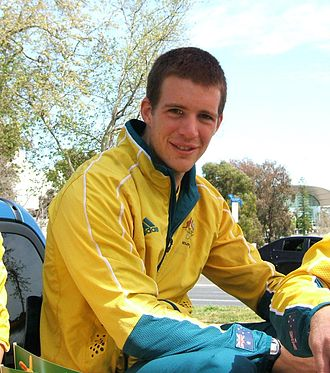 Chris Morgan (rower) - Morgan in 2008