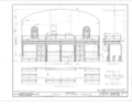 Christ Episcopal Church, Broad Street and Sycamore Avenue, Shrewsbury, Monmouth County, NJ HABS NJ,13-SHREW,1- (sheet 12 of 19).png