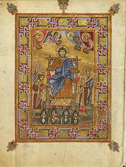Christ irina, Egbert Psalter