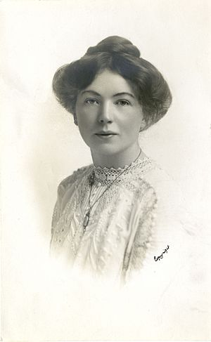 Christabel Pankhurst - Christabel Pankhurst, c. 1910