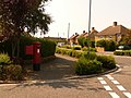 Christchurch, postbox No. BH23 46, Southey Road - geograph.org.uk - 1436150.jpg