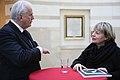 Christie's Deputy Chairman Americas Jonathan Rendell und Gisela Kayser (39126582800).jpg