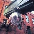 Christmas Market big ass disco ball (46514677752).jpg