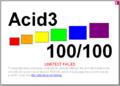 Chrome Build 3989 Acid 3 Test Results.png