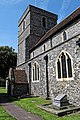 Church of St Mary the Virgin, Eastry, Kent - tower and south porch.jpg